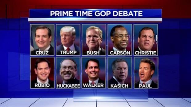 GOP Debate, Credit - ABC 13