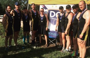 Members of the DC Strokes' silver medalist team (Credit: Paul Heaton).