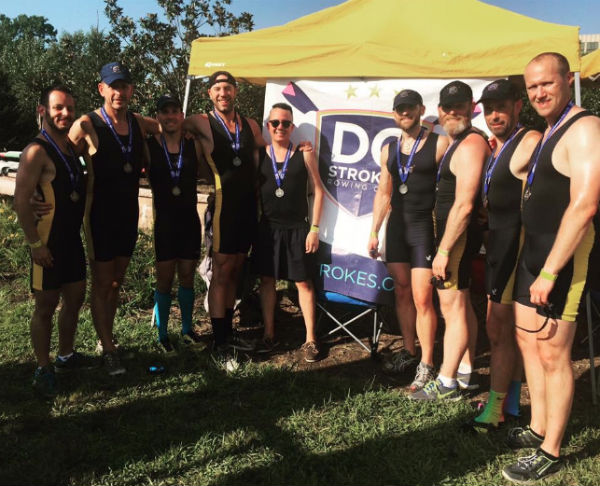 Members of the DC Strokes' silver medalist team (Credit: Paul Heaton).