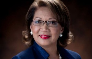 Sen. Nerissa Bretania Underwood (D), the Guam marriage equality bill's chief sponsor.