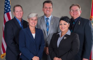 Members of the Osceola County Commission (Credit: Osceola County Board of County Commissioners, osceola.org).