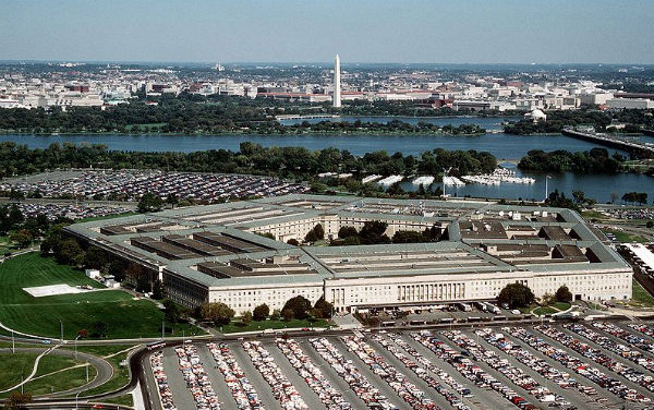 The Pentagon (Credit: Master Sgt. Ken Hammond, U.S. Air Force, courtesy of the Department of Defense, via Wikimedia Commons).