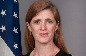 U.S. Ambassador to the United Nations Samantha Power (Credit: U.S. State Department, via Wikimedia Commons).