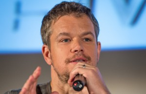 Matt Damon -- Photo Credit: (NASA/Bill Ingalls)