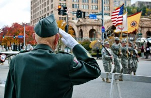 A Veteran's salute, Credit: The U.S. Army / Flickr
