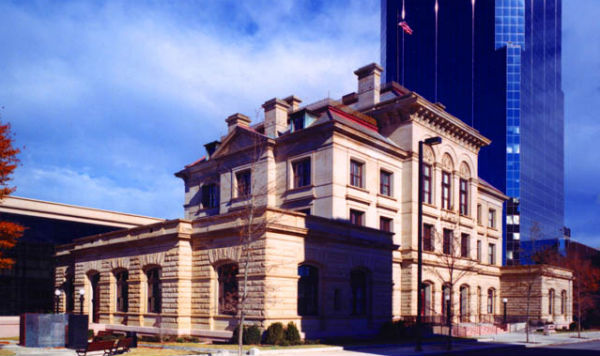 The Old Post Office and Courthouse in Little Rock, Ark. (Photo: General Services Administation, via Wikimedia Commons).