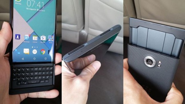 BlackBerry Venice -- Credit: evleaks / Twitter