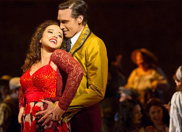 Carmen - Photo via Washington National Opera / Kennedy Center