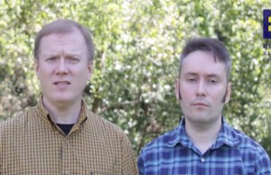 Ermold (left) and Moore (Photo: Human Rights Campaign, via YouTube).