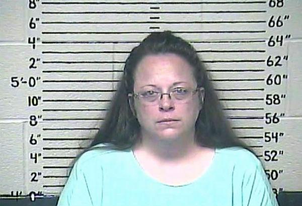 Kim Davis' booking photo (Photo: Carter County Detention Center).