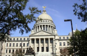 Mississippi State Capitol Building (Photo: Allstarecho, via Wikimedia Commons).