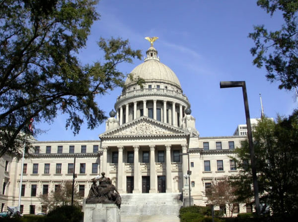 Mississippi State Capitol Building (Photo: Allstarecho, via Wikimedia Commons).