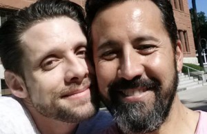 Pintauro (left) with husband Wil Tabares (Photo: Danny Pintauro, via Facebook).