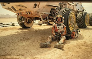 The Martian: Matt Damon