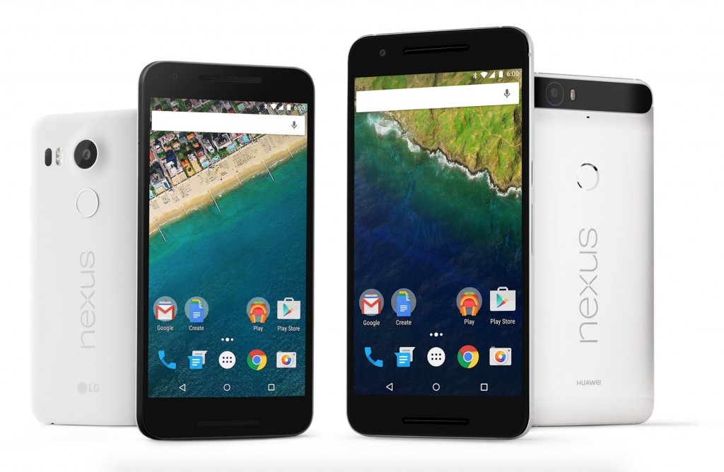 Nexus 5X and 6P