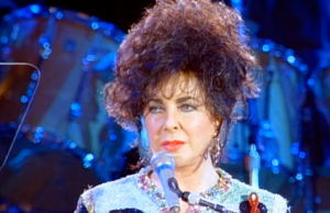 Elizabeth Taylor in 1992