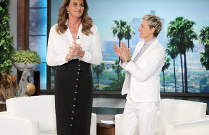 Caitlyn Jenner on the Ellen show - Photo: Michael Rozman/Warner Bros