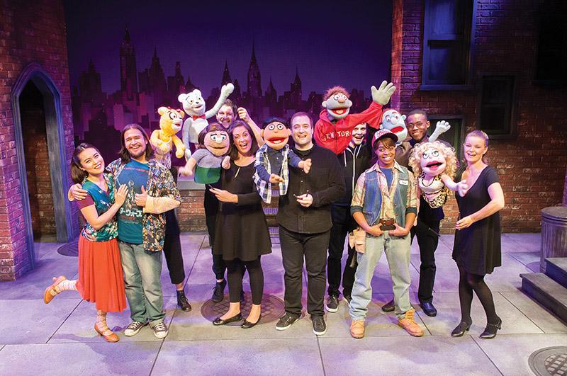 Constellation Theatre's Avenue Q - Photo: Todd Franson