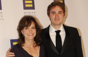 Sally Field and her son Sam, Credit: Ward Morrison