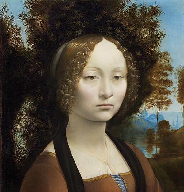 """Leonardo da Vinci: """"Ginevra de' Benci"""""""
