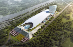 Rendering of the the MGM National Harbor.