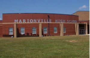 Marionville High School (Marionville R-9 School District, via Facebook).