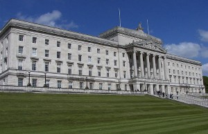 Parliament Buildings of Stormont in Belfast, Northern Ireland (Photo: Wknight94, via Wikimedia Commons).