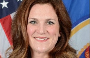 Official photo of Commissioner Emily Johnson Piper (Photo: Minnesota Department of Human Services).