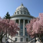 Missouri State Capitol building (Photo: Visitjeffersoncity, via Wikimedia Commons).