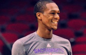 Rajon Rondo (Photo: Sacramento Kings, via Facebook).