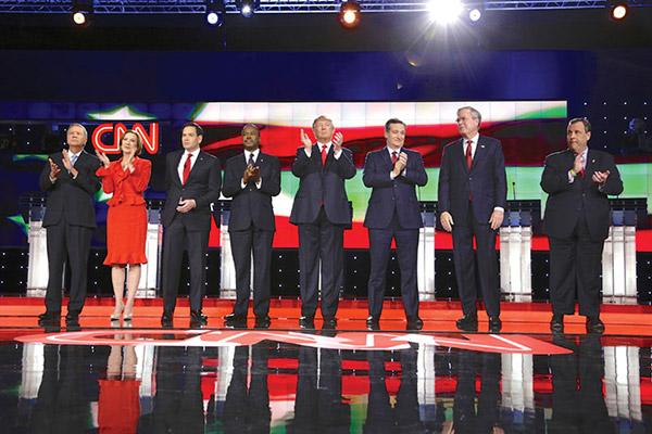 GOP Candidates - Photo: Joseph Sohm