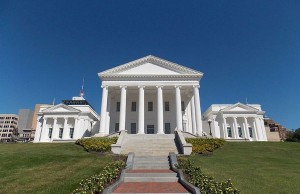 Virginia State House (Photo: Farragutful, via Wikimedia Commons.)