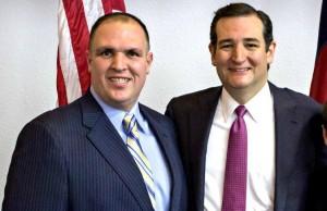 Bill Metzger (L) and Ted Cruz, Credit: Facebook