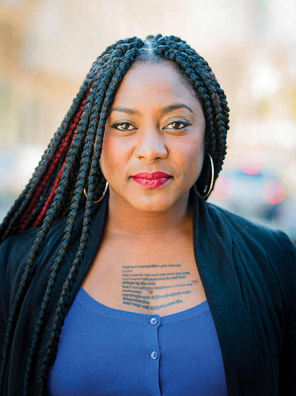 Blacklivesmatter Alicia Garza On Privilege Justice And Founding A Movement Metro Weekly