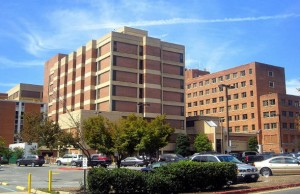 Georgetown University Hospital (Photo: AgnosticPreachersKid, via Wikimedia Commons).