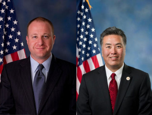 Congressmen Jared Polis, D-Colo. (Photo: Office of Congressman Jared Polis) and Mark Takano, D-Calif. (Photo: U.S. Congress).