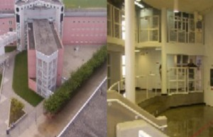 Exterior and interior shots of the Eastern Kentucky Correctional Complex (Photo: Kentucky Department of Corrections).