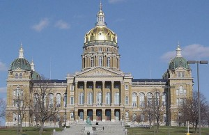 Iowa State Capitol (Photo: Cburnett, via Wikimedia).