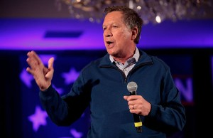 Republican presidential candidate and Ohio Gov. John Kasich (Photo: Gage Skidmore, via Wikimedia Commons).