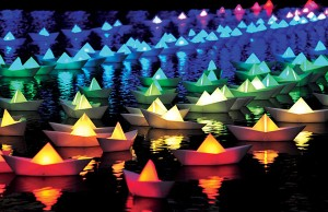 Light City Baltimore: Voyage by Aether Hemera - Photo: Philip Vile