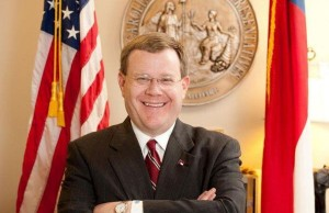 North Carolina House Speaker Tim Moore (Photo: Jbrackett74, via Wikimedia).