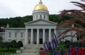 Vermont State Capitol (Photo: Alexander C. Wimmer, via Wikimedia).