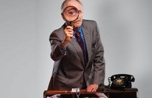 "Alan Wade as Inspector Hubbard in ""Dial 'M' for Murder"" - Photo: Chris Mueller"
