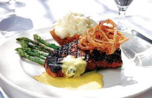 Beacon: Grilled angus cowboy steak - Photo: Todd Franson