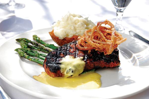 Beacon: Grilled angus cowboy steak - Photo: Todd Franson