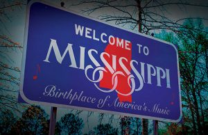 Welcome to Mississippi sign - Photo: photoua