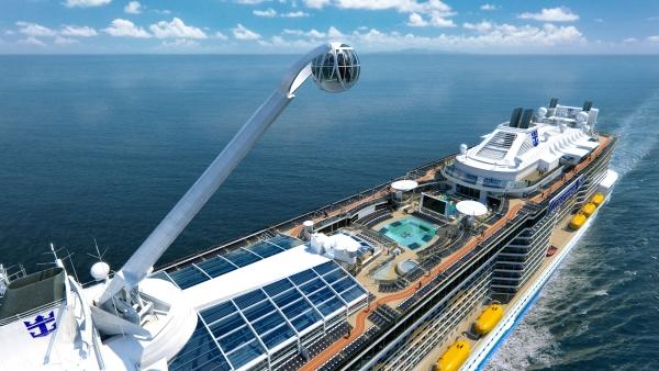 Royal Caribbean International's Anthem of the Seas cruise ship