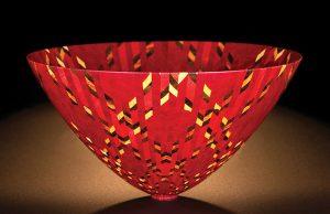 Wood bowl: Mike Shuler