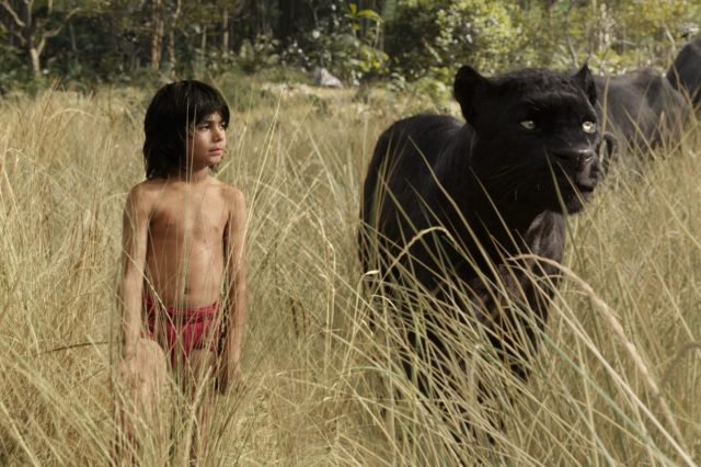 Mowgli and Bagheera, Credit: Disney