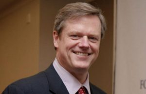 Massachusetts Gov. Charlie Baker (Photo: Rappaport Center, via Wikimedia).